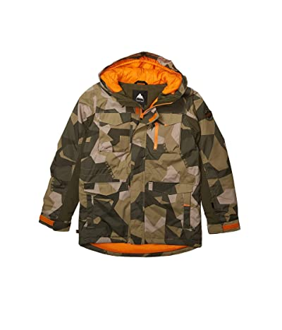 Burton Kids Covert Jacket (Little Kids/Big Kids) (Three Crowns Camo) Boy