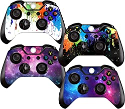 SKINOWN Skin Sticker Protective Cover for Xbox One Controller Starry and Painting (4 Pieces)