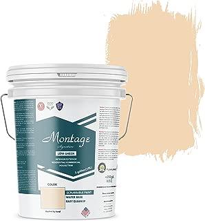Montage Signature Interior/Exterior Eco-Friendly Paint, Desert Mesa - Low Sheen, 5 Gallon