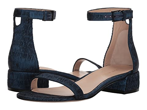 Stuart Weitzman 35lessnudist Navy Pleated Lurex Best Sale Cheap Price Cheap Extremely Cheap Sale Latest Sale Manchester Great Sale AHZnA