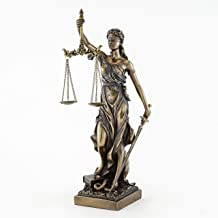 """Top Collection Lady Justice Statue – Greek Roman Goddess of Justice (12"""")"""