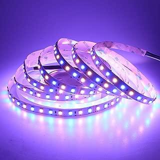 LEDENET 16.4FT Super Bright LED Light Strip SMD 5050 24V RGB Warm White 360LEDs Flexible RGBWW LED Rope Light 5M