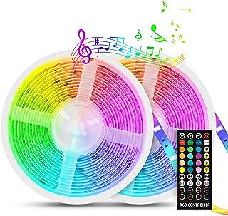 Led Strip Lights Sync to Music, Tasmor 32.8ft