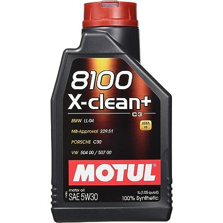 Motul 102786 8100 5w40 X Clean 5w40 1liter Auto