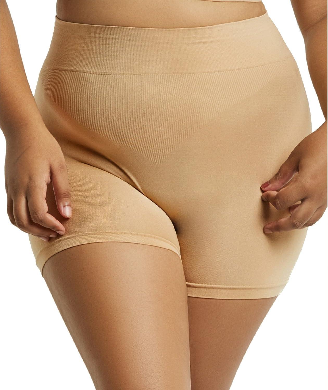 Popular Women's Plus Size Tummy Control High Waisted Boyshorts  Value Packs