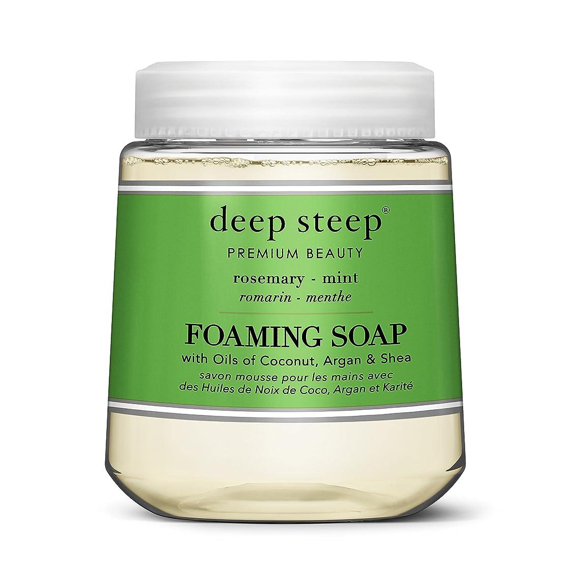 症候群日遺産simplehuman Deep Steep 10?Fl。オンスローズマリーミントFoaming Hand Washカートリッジ