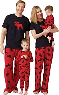 Moose Family Pajamas
