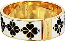 Heritage Spade Thin Spade Floral Enamel Bangle