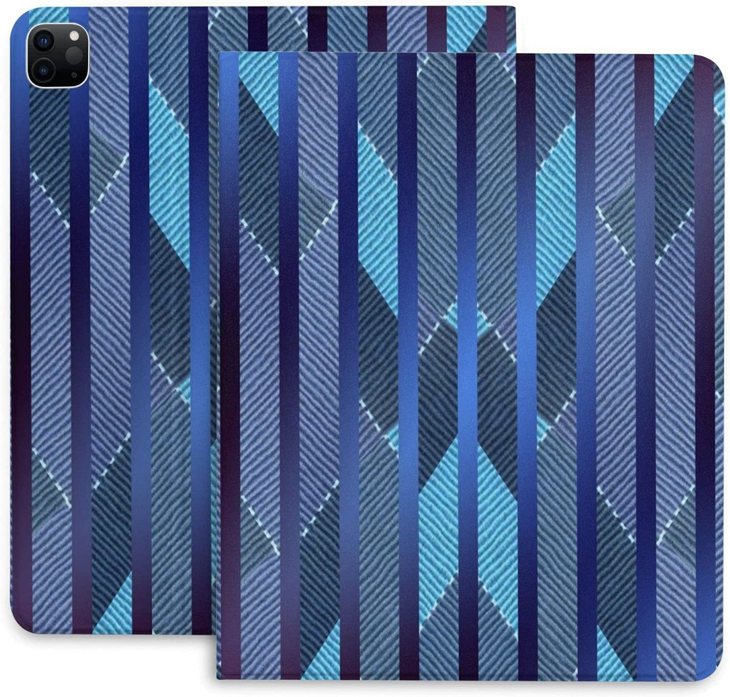Nashville-Davidson Mall Soldering XIWEB Blue Stripes Ipad 2020 Pro Pe Durable with Protective Case