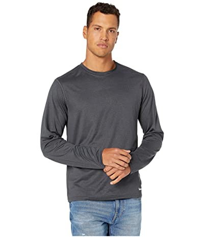 Timberland PRO Wicking Good Sport Long Sleeve T-Shirt (Dark Charcoal Heather) Men