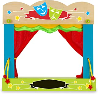 Fiesta Crafts - T-2749 - Malette-théâtre pour Marionnettes À Doigts