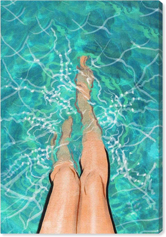Wynwood Columbus Mall Max 76% OFF Studio Fashion and Glam Wall L Canvas Art 'Summer Prints