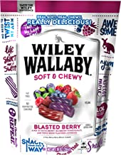 Wiley Wallaby Blasted Berry Licorice Mix of Huckleberry, Blueberry Pomegranate & Triple Berry, 10 Ounce Bag