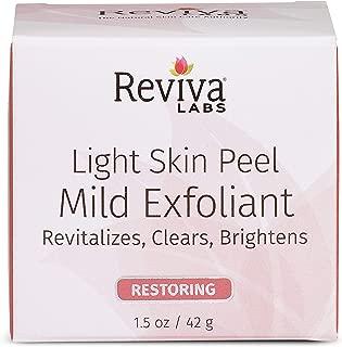reviva light skin peel mild exfoliant
