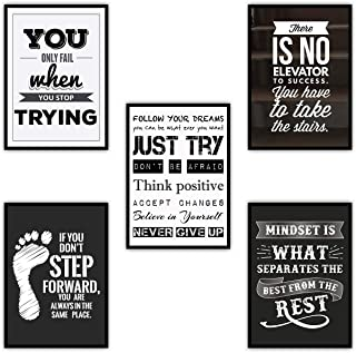 Murvin Inspirational Quotes for Teachers Students Business   Motivational Posters for Classrooms and Wall Decors I Quotes ...