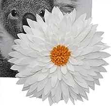 Travesseiro decorativo de flores da CONTEMPO LIFESTYLES – Design patenteado 3D margarida almofada de flores, almofada de g...