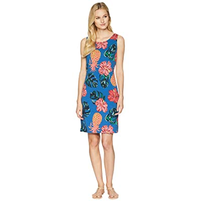 Tommy Bahama Pina Cool-Ada Scoop Back Dress (Cobalt Sea) Women