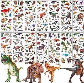 防水ステッカーシール 子供&幼児用3Dシール 手帳テープ ステッカーセット グッズ キーチェーン コスプレ セット(恐竜Dinosaur)