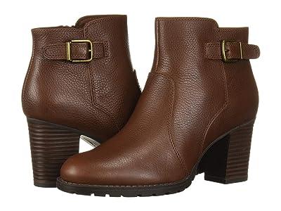 Clarks Verona Gleam (British Tan Leather) Women
