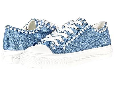 Stuart Weitzman Ollie Mini Pearl Low Top Sneaker