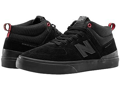 New Balance Numeric 379 Mid (Black/Black) Shoes
