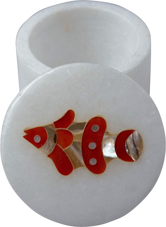 ランキング総合1位 QUEENZA Ring Box Proposal - Marble In – Organizer セール特価 Wedding Gift 2
