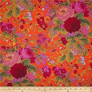 FreeSpirit Fabrics 0366248 Kaffe Fassett Collective Grandi Floral Tomato Fabric by the Yard