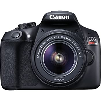 Canon EOS Rebel T6 Digital SLR Camera Kit with EF-S 18-55mm f/3.5-5.6 IS II Lens (Black)
