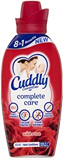 Cuddly Concentrate Fabric Softner Conditioner Complete Care Wild Rose Made in Australia 850mL