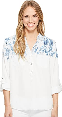 Long Sleeve Shirt with Roll Up Sleeve