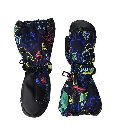 Burton Kids Minishred Heater Mitt (Toddler) (Art Class) Snowboard Gloves