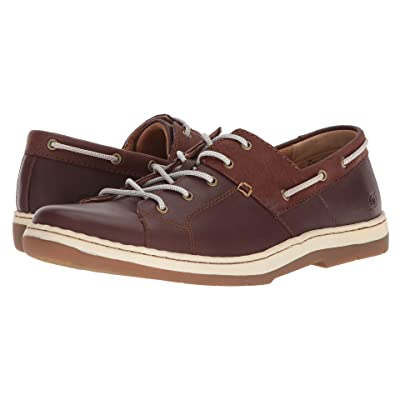 Born Marius (Dark Brown/Dark Brown Full Grain Leather Combo) Men