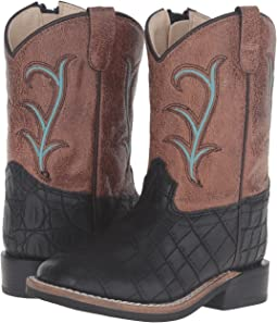 Old West Kids Boots Square Toe (Toddler)