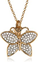 Juicy Couture Pave Butterfly Necklace, 31.21