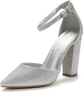 2e25839fd1b9 DREAM PAIRS Women s Coco Pointed Toe High Heels Pump Shoes