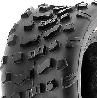 SunF A022 20x10-9 [20x10x9] ATV/UTV Off-Road Tire, 6-PR  Knobby Tread