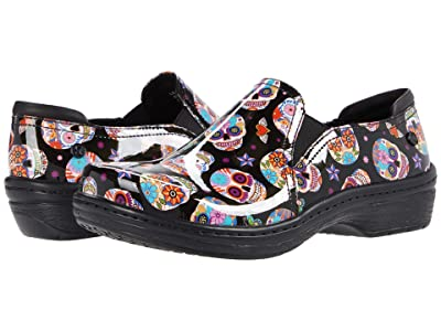 Klogs Footwear Moxy (Candy Skulls Patent) Women
