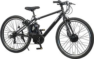 【100%完成納品】PELTECH(ペルテック)27.5インチ 電動アシストクロスeバイク 外装7段 8AHバッテリー