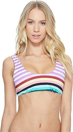 THE BIKINI LAB - Stripeout Tank Bralette Bikini Top