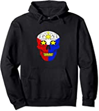 Pinoy Hoodie Filipino flag and Mexican skull