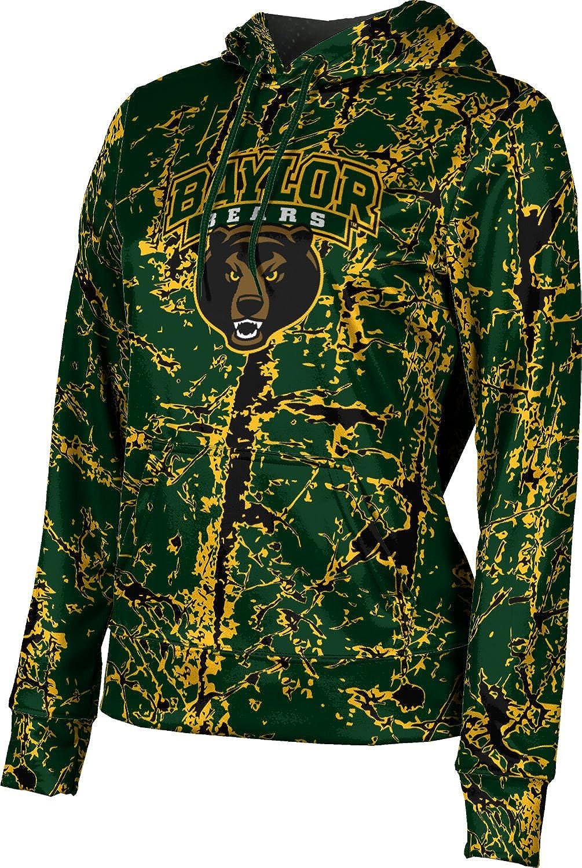 ProSphere Baylor University Girls' Pullover Hoodie, School Spirit Sweatshirt (Distressed)
