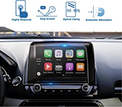 LFOTPP 2018 Ford EcoSport SYNC 3 8 Inch 2019 Titanium Trapezoid Tempered Glass Car Navigation Screen Protector, [9H] Infotainment System Screen Center Touchscreen Protector Anti Scratch High Clarity