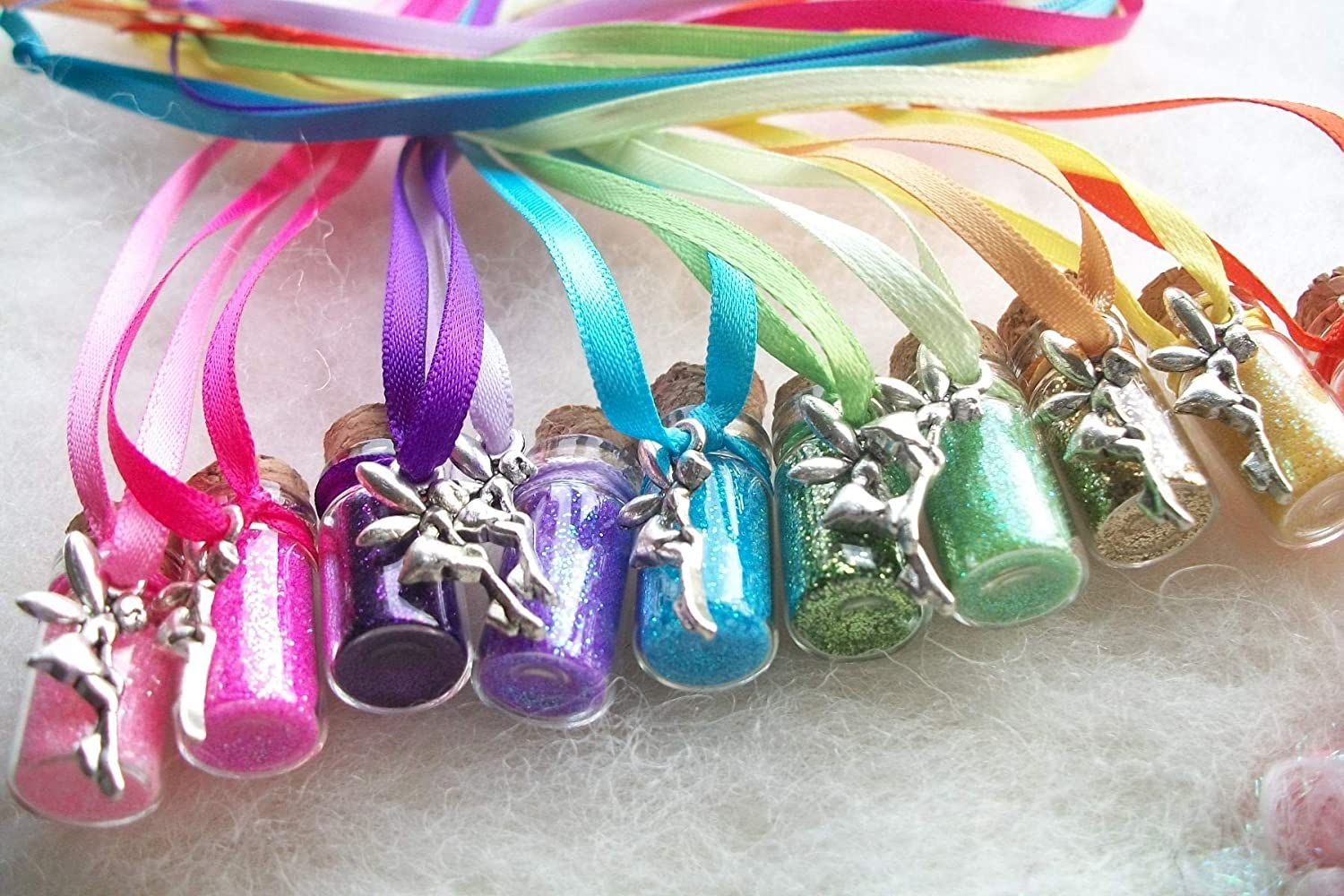 Rainbow Ranking TOP14 Party Mesa Mall Favors Tiny Dust Necklaces Fairy Tinkerbell