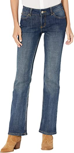 Essential Mid-Rise Bootcut Jeans