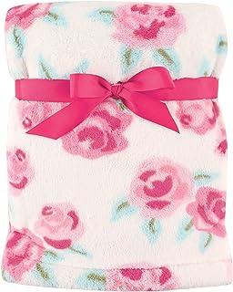 Hudson Baby Unisex Baby Super Plush Blanket, Rose, One Size