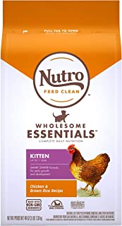 Nutro Wholesome Essentials Kitten Dry Cat Food Farm-Raised Chicken & Brown Rice Recipe