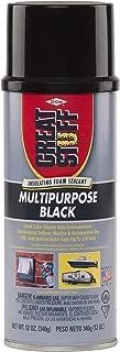 Great Stuff 99054816 Multipurpose Insulating Foam Sealant, 12 oz, Black