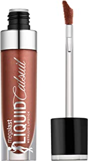 wet n wild Megalast Liquid Catsuit Metallic Lipstick, Ride on my Copper, 0.21 Ounce