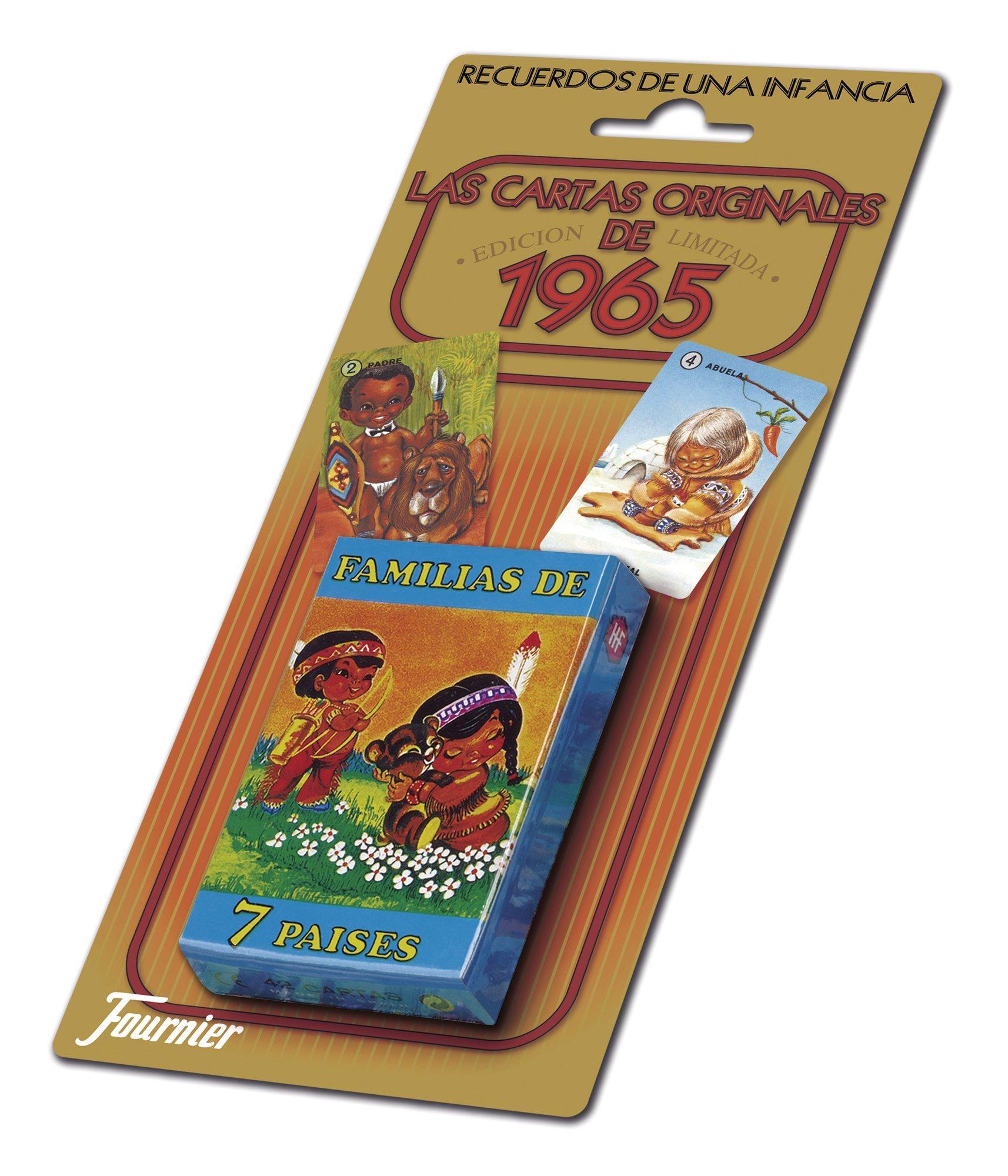 Fournier- Familias 7 Países Baraja de Cartas Infantil clásica, Multicolor (21966): Amazon.es: Juguetes y juegos