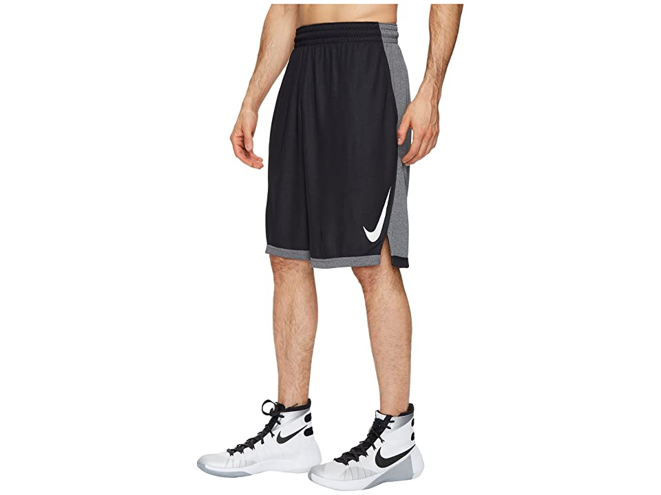 Nike Dry Dribble Drive Basketball Short (Black/White) Men